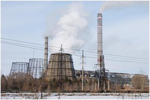 Схема выдачи мощности Омской ТЭЦ-4 с учетом реконструкции ТГ-6, ТГ-7